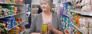 Sandy Gulliver in commercial