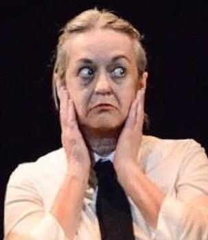 Sandy Gulliver in Mary Poppins as Miss Smythe