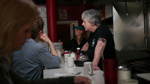 Sandy Gulliver Chicago actor as diner waitress in Killing Irma