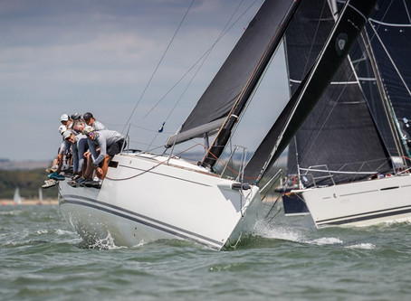 Hamble Finale sees Juno take out the Overall P40 2019 Title.