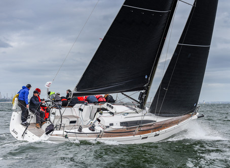 Performance 40 Round 1 of 2019 Warsash - First blood goes to Juno