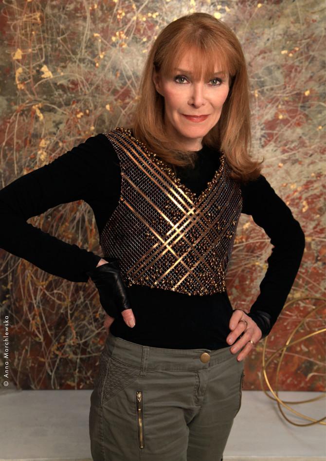 Adrienne Jalbert, le portrait d'artiste sur le site Le Fashion Post