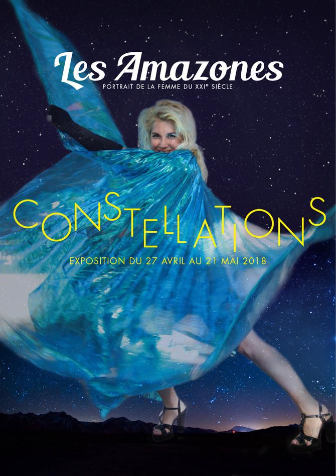 L'exposition Les Amazones-Constellations arrive à Rueil-Malmaison