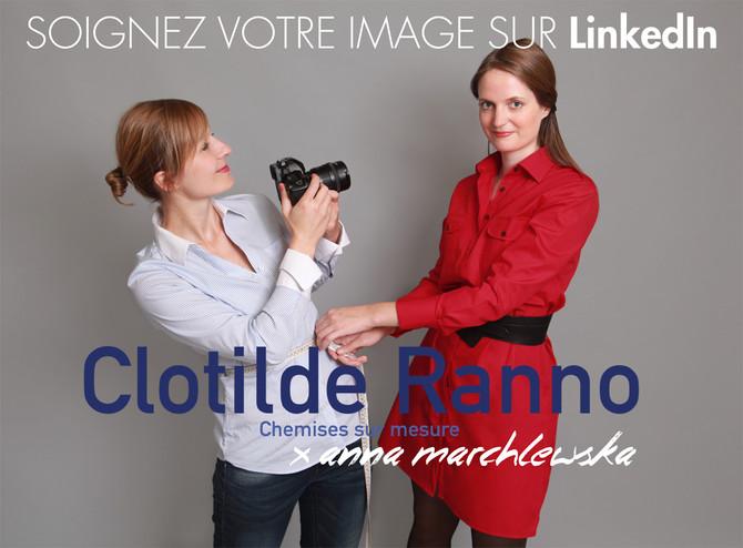 Une belle collaboration avec Clotilde Ranno