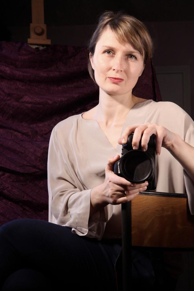 C'est elle qui a photographié les Polonaises en France