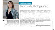 Anna Marchlewska, Community Photographer