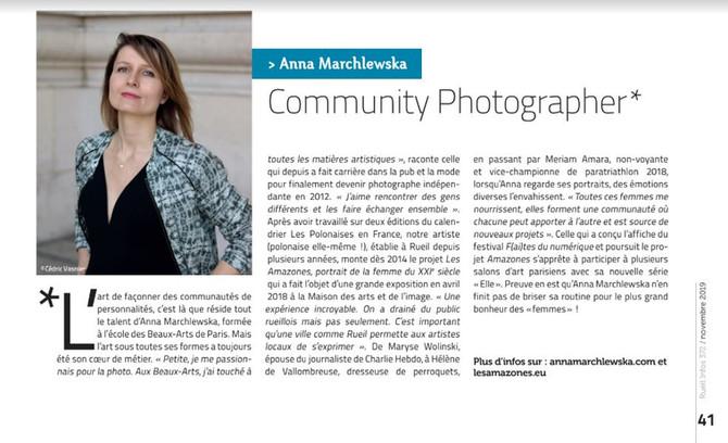 Anna Marchlewska, Community Photographer