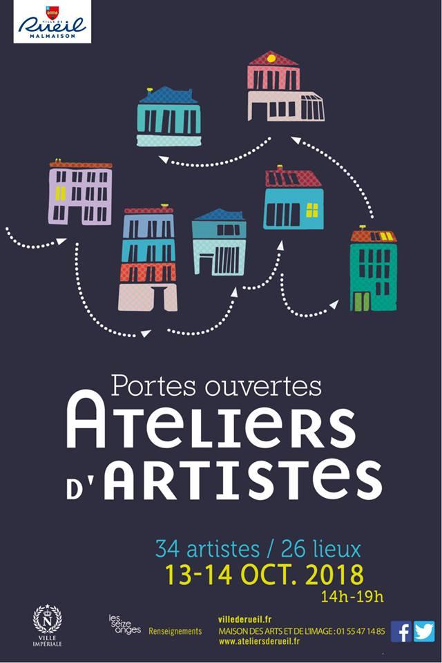 Portes Ouvertes Ateliers d'Artistes 2018