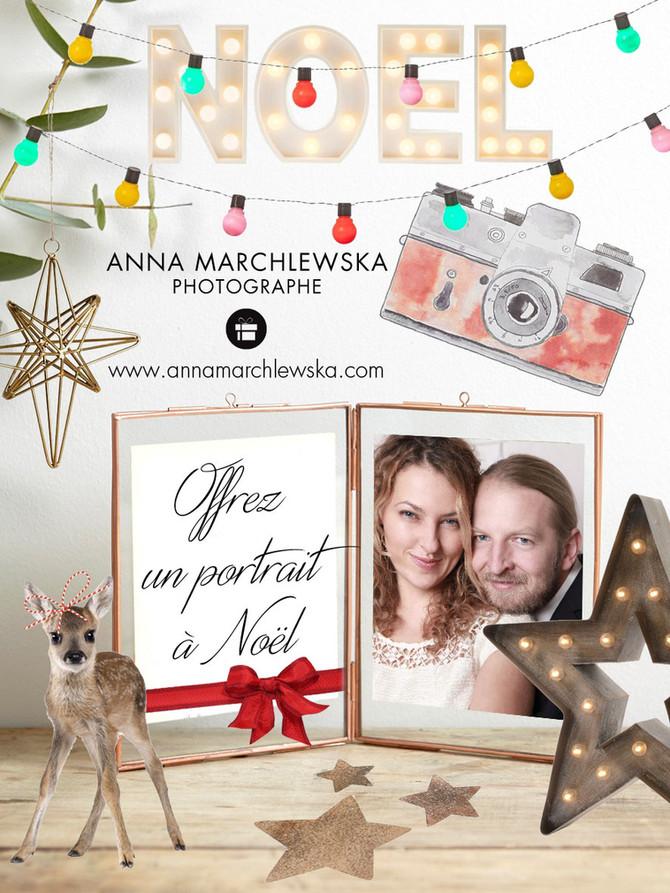 Offrez une séance photo à Noël!