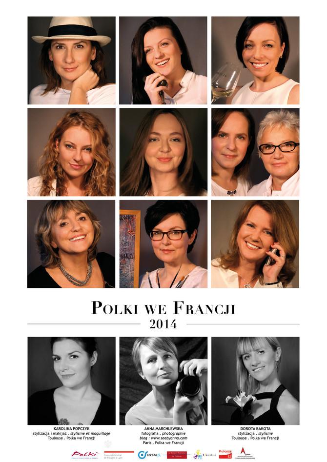 """C'est du jamais vu, le calendrier """"Les Polonaises en France"""""""