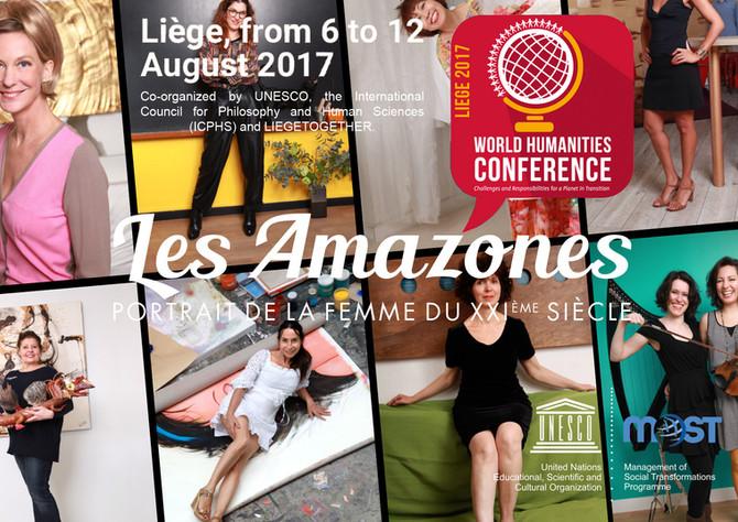 Les Amazones présentées à World Humanities Conference