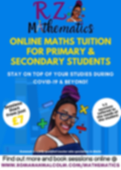 Blue and Yellow Illustrated Tutor Flyer-