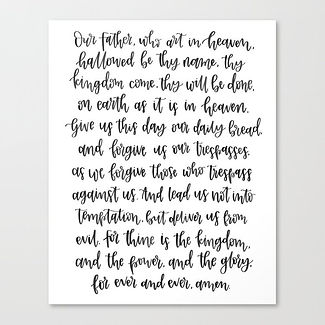 the-lords-prayer-hand-lettered-design-ca