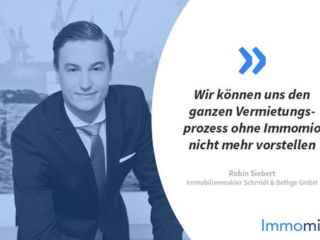 Kundenstory: Immobilienmakler Schmidt & Bethge Immobilien Vertriebs GmbH mit Robin Siebert