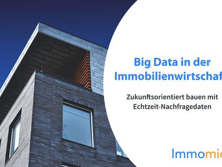 Big Data in der Immobilienwirtschaft: Zukunftsorientiert bauen mit Echtzeit-Nachfragedaten