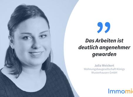 Kundenstory: Wohnungsbaugesellschaft Königs Wusterhausen GmbH mit Julia Weickert