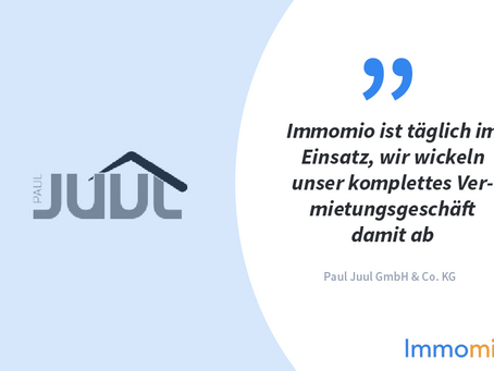 Kundenstory: Paul Juul setzt auf Immomio