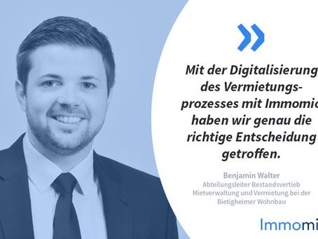 Kundenstory: Bietigheimer Wohnbau GmbH