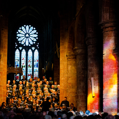 Sonoro and the St Magnus Festival Chorus, 2018