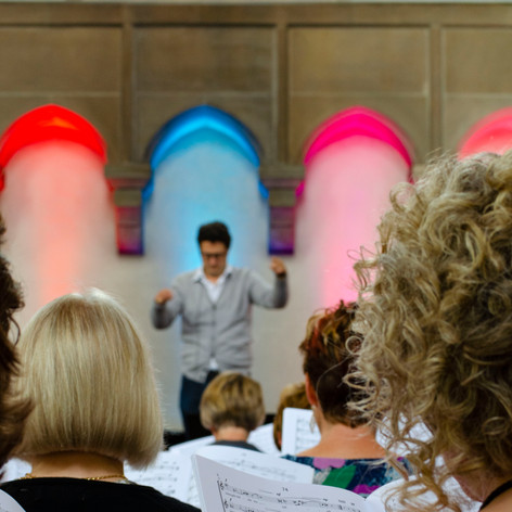 Choral Inspirations workshop, Newcastle, July 2019