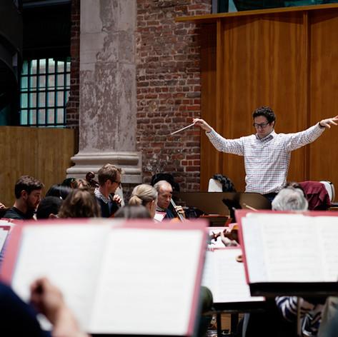 Da Vinci Requiem rehearsal, May 2019