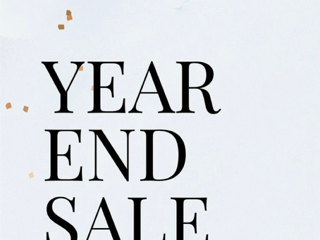 Year End Sale starts Now!