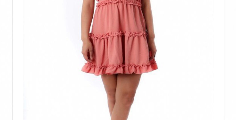Baby Doll Flared Dress