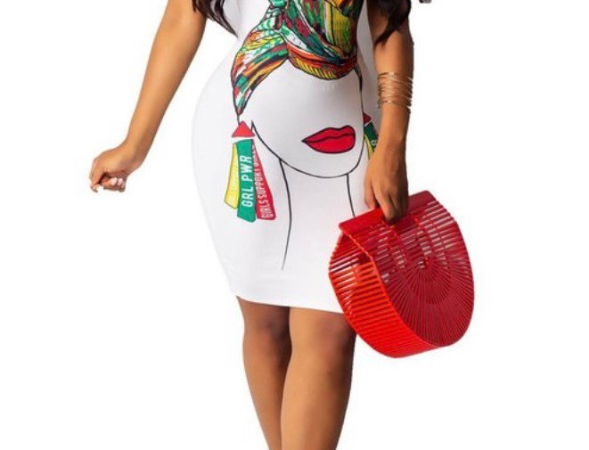 """""""For The Culture"""" Dress"""