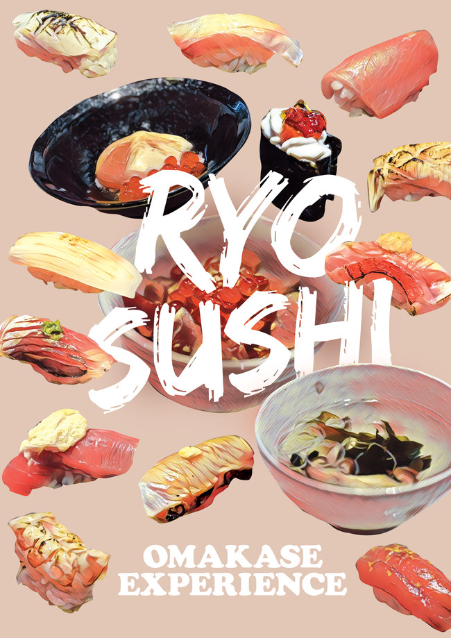 Ryo Sushi Omakase - I tried Cod Fish Sperm Sushi for the first time!