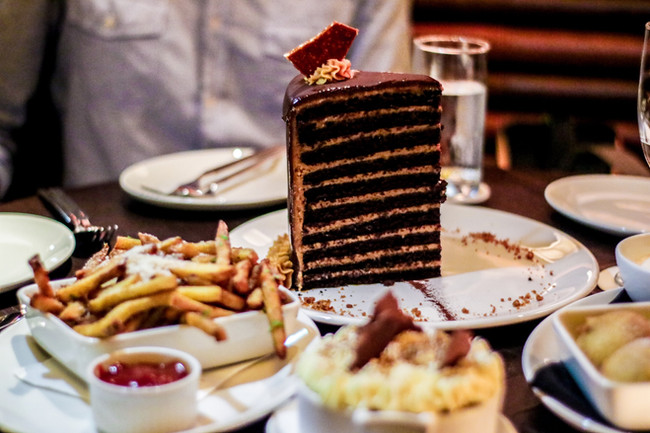 Is this the best 20 Layers Chocolate Cake in the world? - LAVO Singapore Review