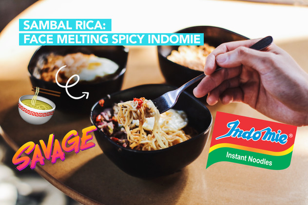 I tried an Indomie Cafe! But does it live up to the hype?