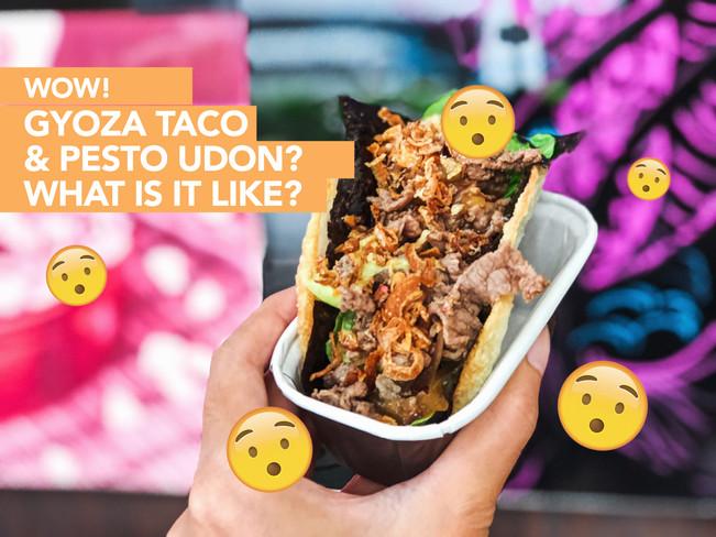 I tried Gyoco & Pesto Udon - is it weird or wonderful?