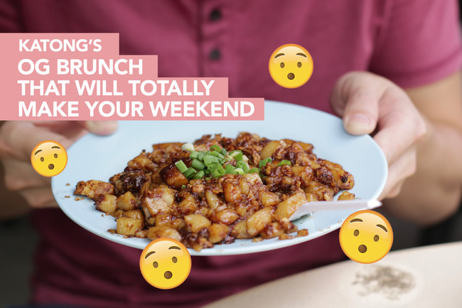 Brunch in Katong, Singapore - (with a twist!)