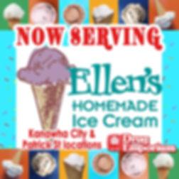 Facebook - Now Serving Ellen's IceCream