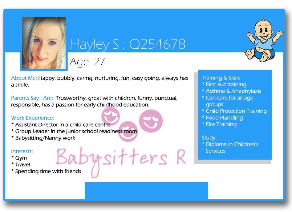 Hayley S Q254678