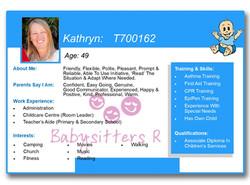 Kathryn T700162