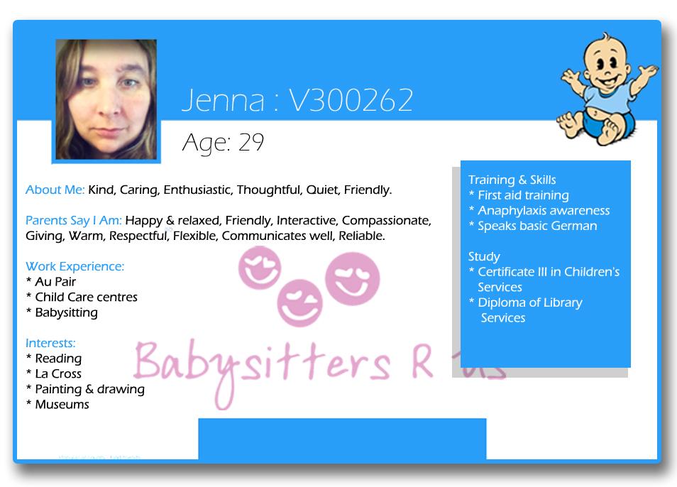 Jenna  V300262