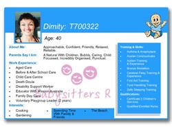 Dimity T700322