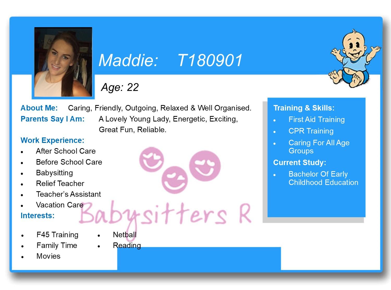 Maddie T180901
