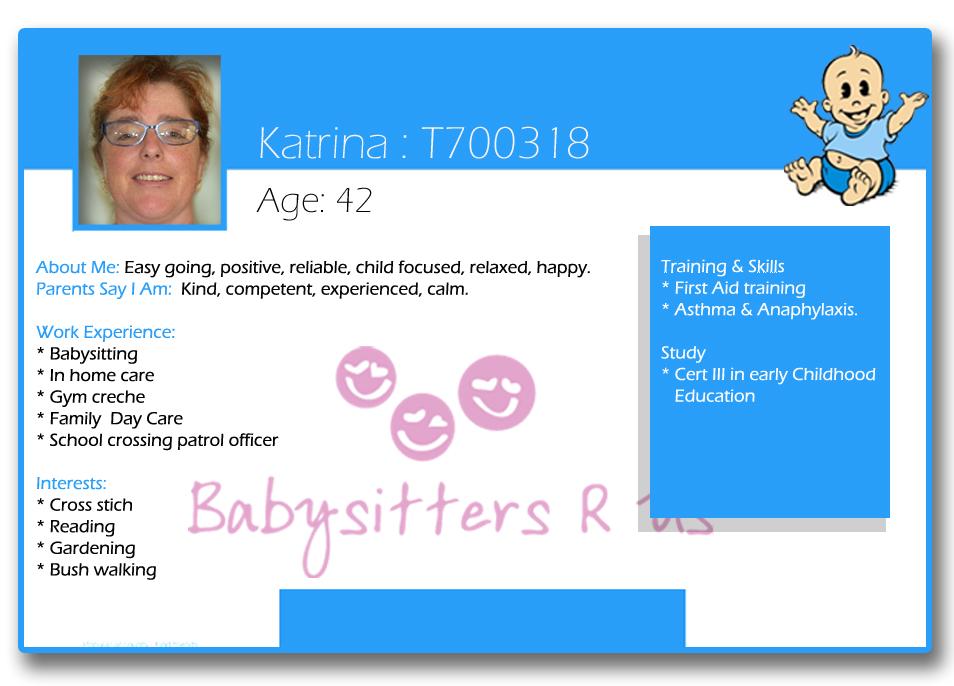 Katrina T700318