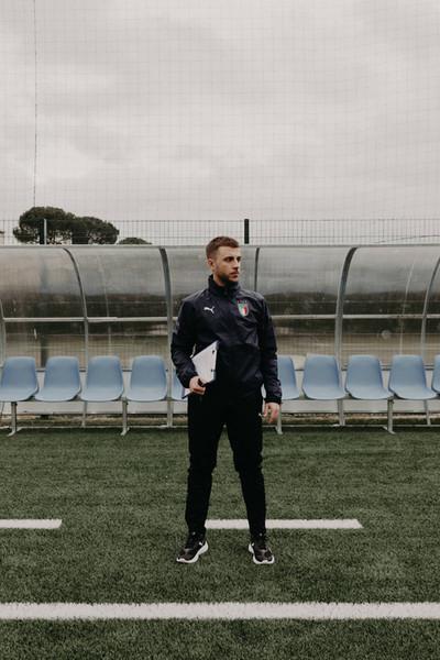 FIGC scheda panchina sguardo laterale ve