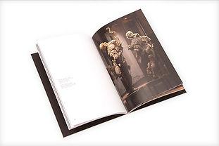 Libro de arte Javier Marin - interiores