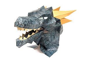 Máscara para El Bestiario de Artes de México