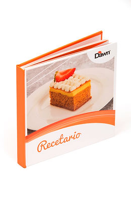 Libro de recetas Dawn en pasta dura