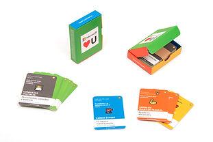 Imperesion digital en tarjetas y cajita suave