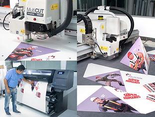 Colgante impreso en Gran Formato 3D.