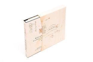 Libro de arte Manuscrito del conquistador con contenedor