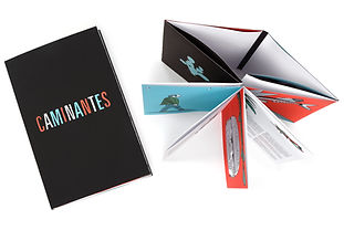 Impreso en Gran Formato en Plotter, folleto multíptico Caminates.
