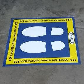 Viniles de piso (5 piezas)