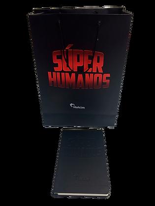 Bolsa Super Humanos con libreta